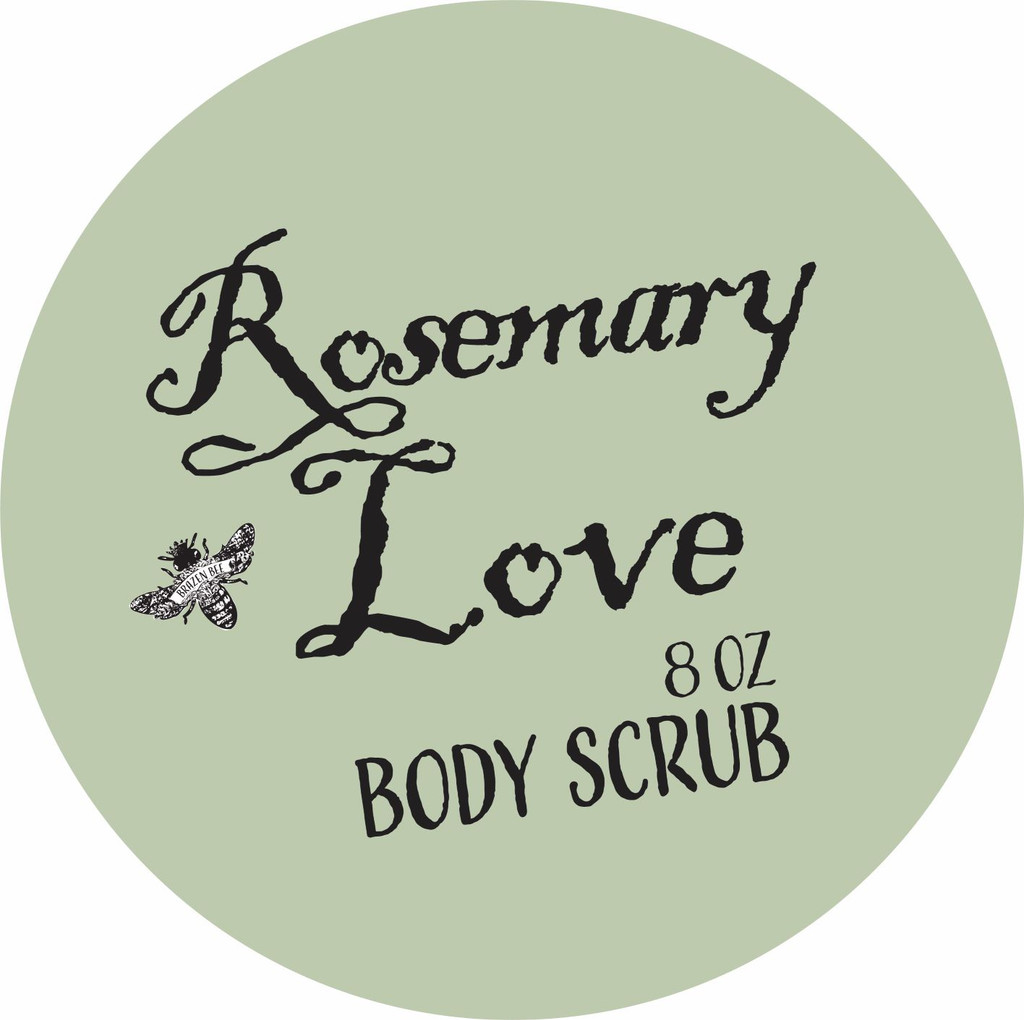Rosemary Love   BODY SCRUB