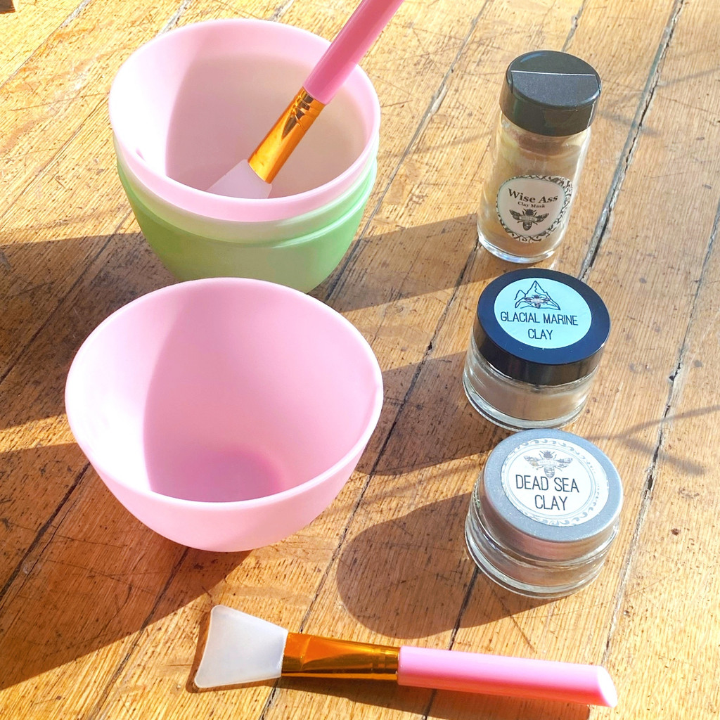 Silicone Mixing Bowl & Mask Applicator   ACCESSORY