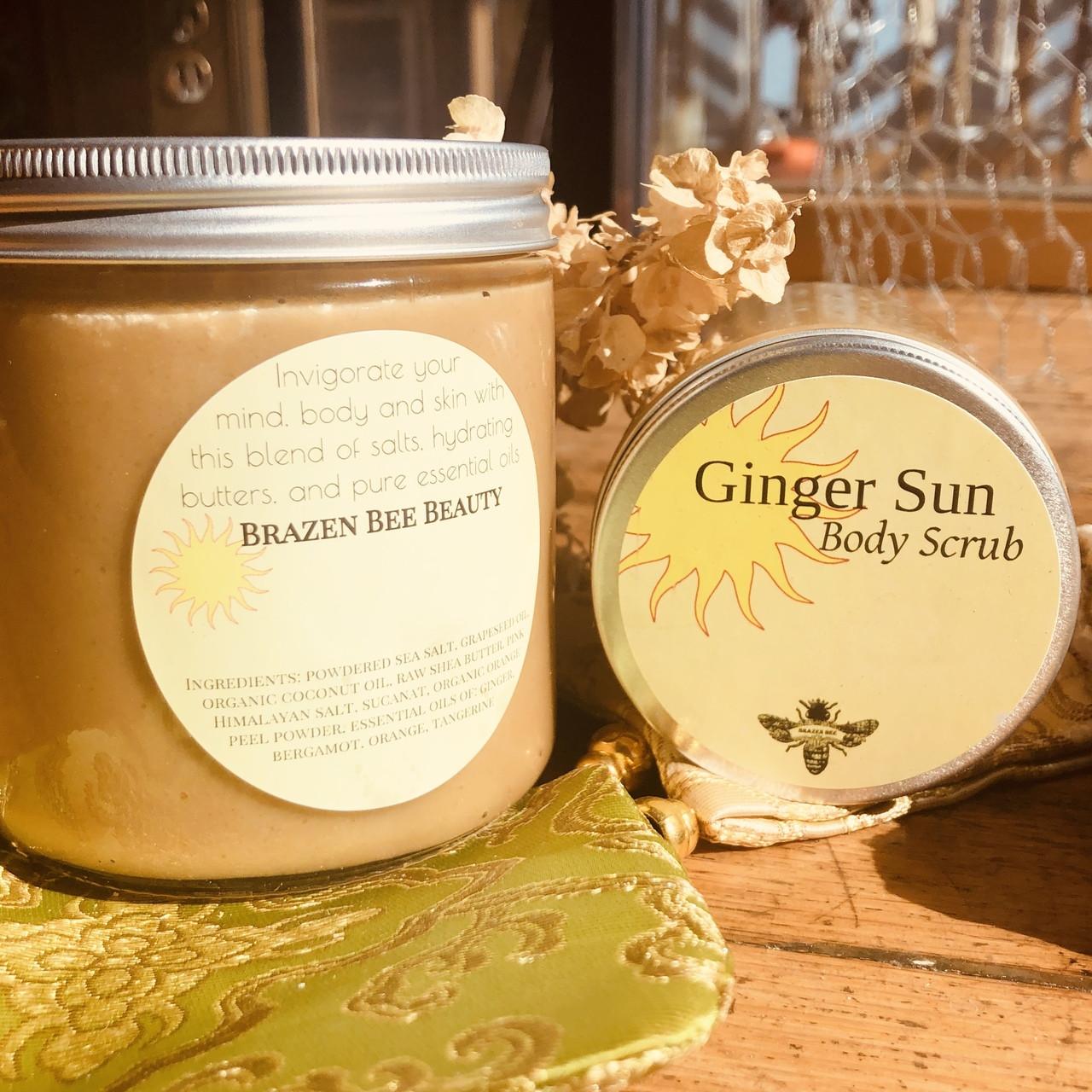 Ginger Sun   BODY SCRUB