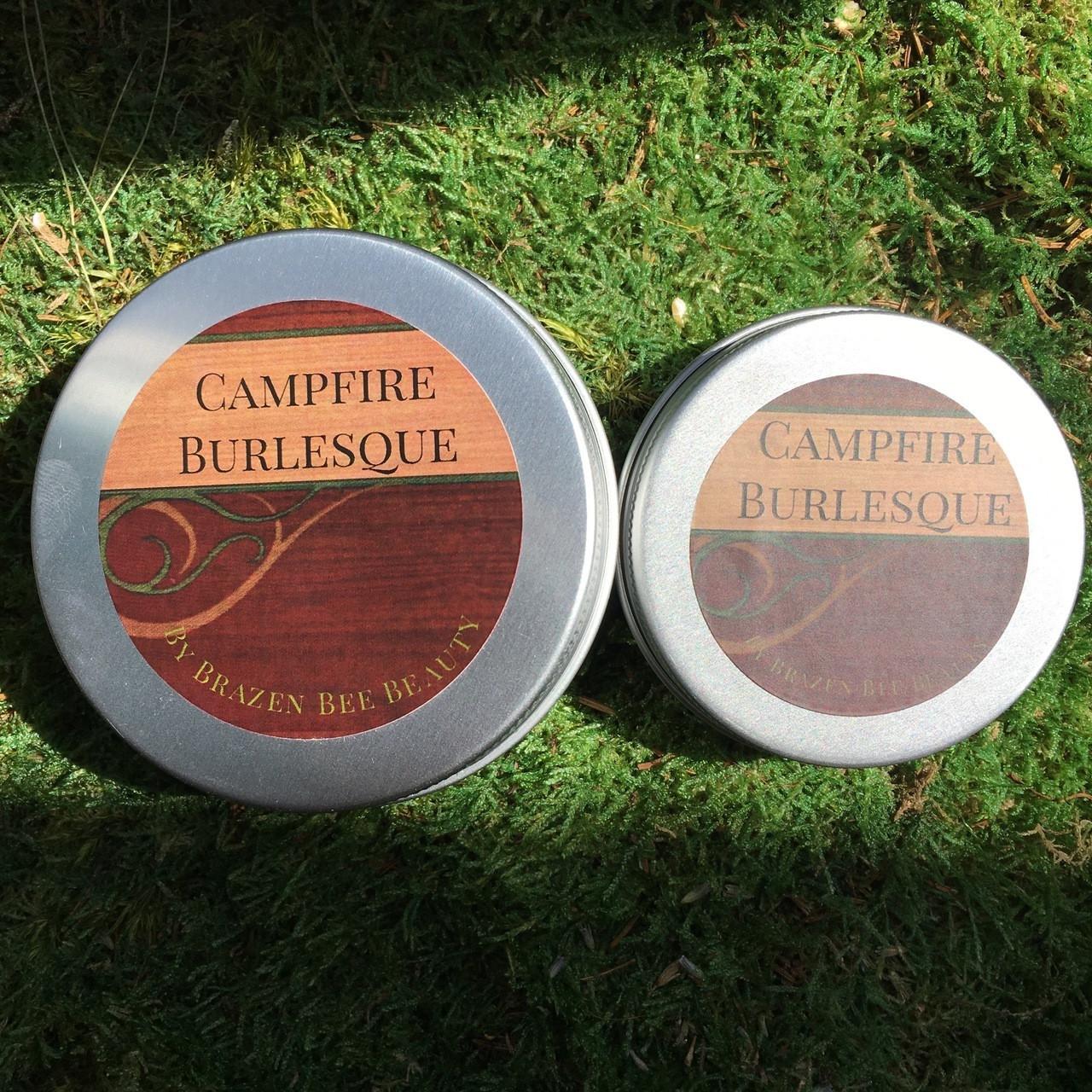 Campfire Burlesque Lotion: Whipped Argan
