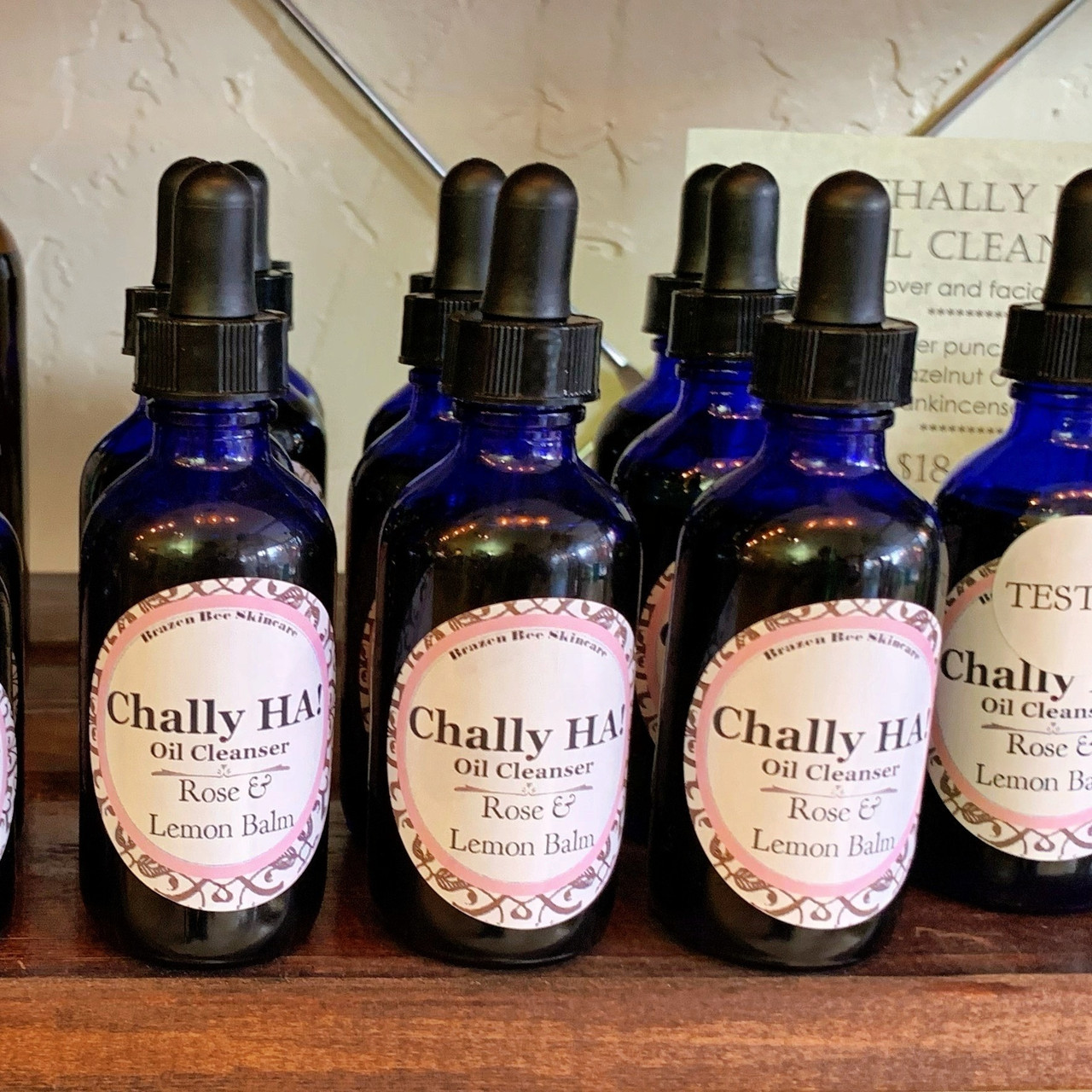 Chally HA! Oil **NEW ROSE & LEMON BALM** |   OIL CLEANSING