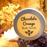An extremely hydrating scrub with coffee and the subtle yet precise smell of fresh cracked chocolate orange.