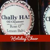 Chally HA! Oil **ROSE & LEMON BALM** |   OIL CLEANSING