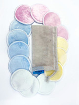 Bamboo Reusable Makeup Remover Pads with FREEBIE of your choice | ACCESSORY