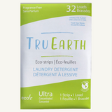 Tru Earth Eco-strips Laundry Detergent (Fragrance-free) - 32 Loads