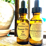 "The Manitou Link Beard Oil ""Raw"" SCENT-FREE 