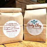 Clay BODY MASK- Customized  MASKS