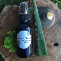 Blatant Toner: Brazen Bee Beauty. With Manitou Spring Water, Organic Aloe Vera, White Willow Bark, Cucumber