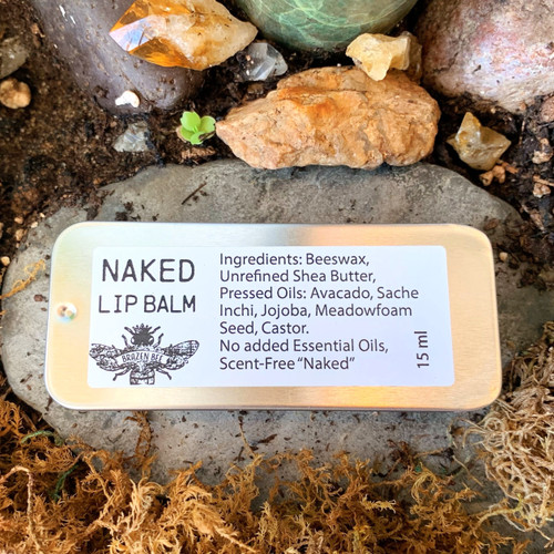 Naked (scent free) | LIP BALM