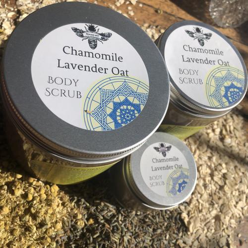 Chamomile Lavender Oat   BODY SCRUB