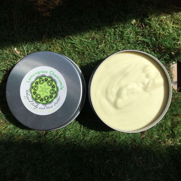 Lemongrass Chamy | HAIR & BODY BUTTER (2oz)