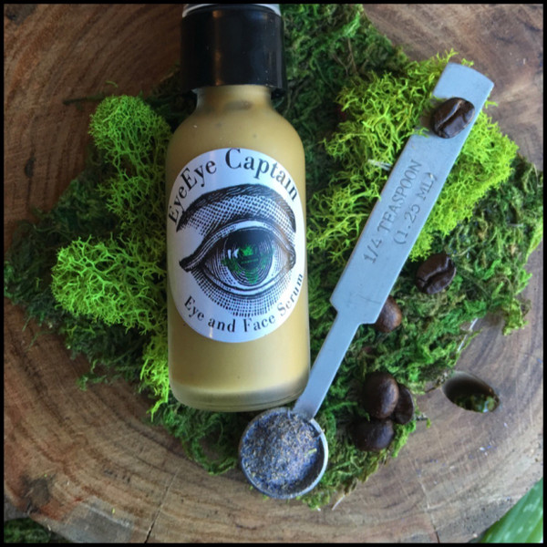 EyeEye Captain Serum for use around eyes to treat bags, sags, and sads.