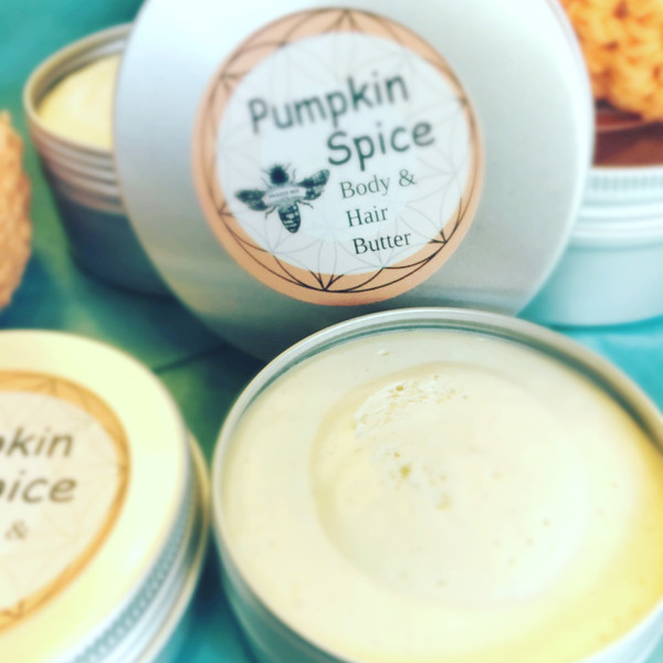 A Pumpkin Spice | HAIR & BODY BUTTER 2 OZ