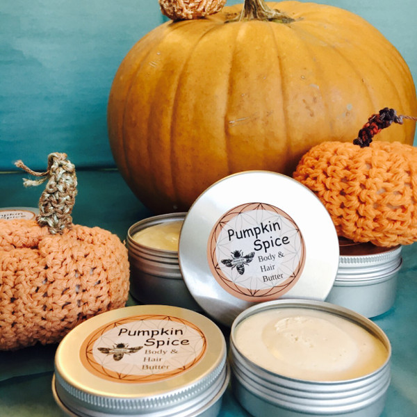 A Pumpkin Spice | HAIR & BODY BUTTER 5 OZ