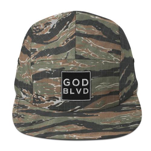 GOD BLVD - Five Panel Cap