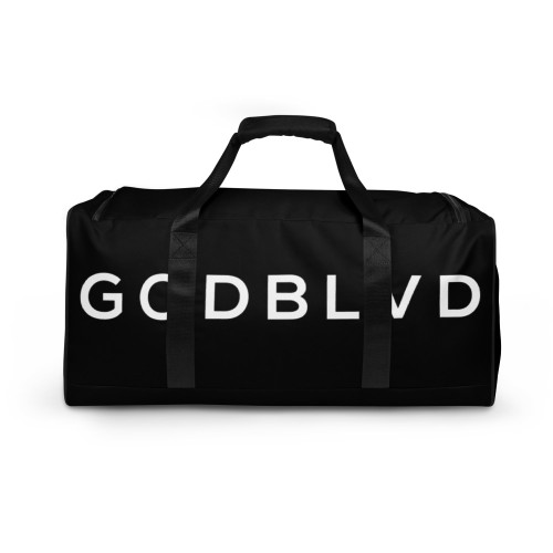 GOD BLVD - Black Duffle Bag