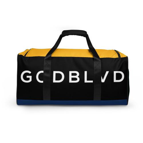 GOD BLVD - Black/Blue/Yellow/Green Duffle Bag