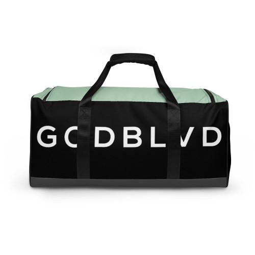 GOD BLVD - Black/Grey/LightGreen Duffle Bag
