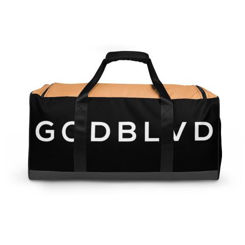 GOD BLVD - Black/Grey/Nude Duffle Bag