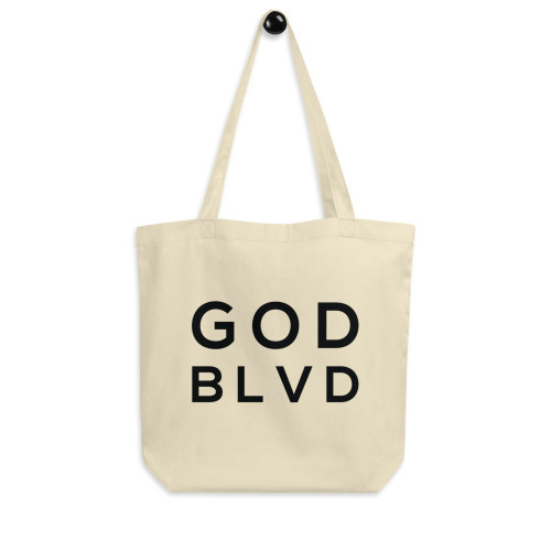 GOD BLVD - Logo Eco Tote Bag