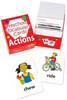 Preschool Vocabulary Cards: Actions