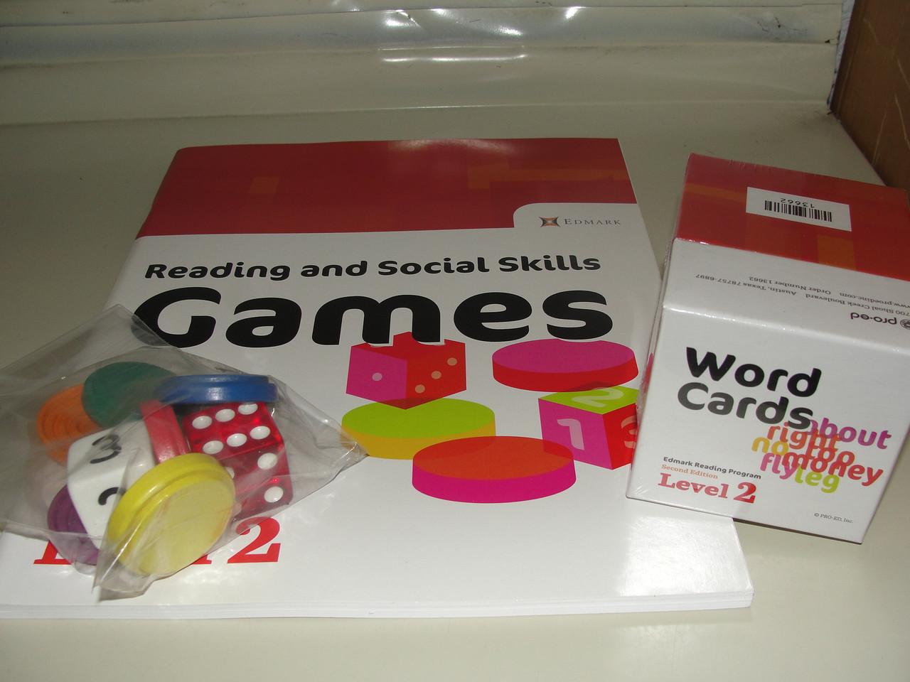 Edmark Reading Program: Level 2 – Second Edition, Reading and Social Skills Games Edmark, Beth Donnelly , Chris Anne Worsham