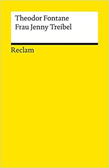 Frau Jenny Treibel (German) Perfect Paperback by Fontane (Author) ( 9783150076354)