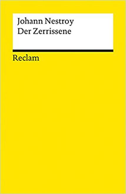 Der Zerrissene (German) Paperback by Johann Hestroy (Author) (9783150036266)