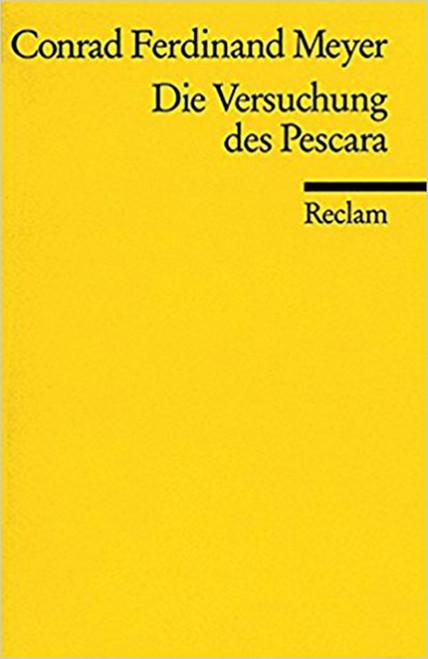 Die Versuchung DES Pescara (German) Perfect Paperback by Ockert Meyer (Author)