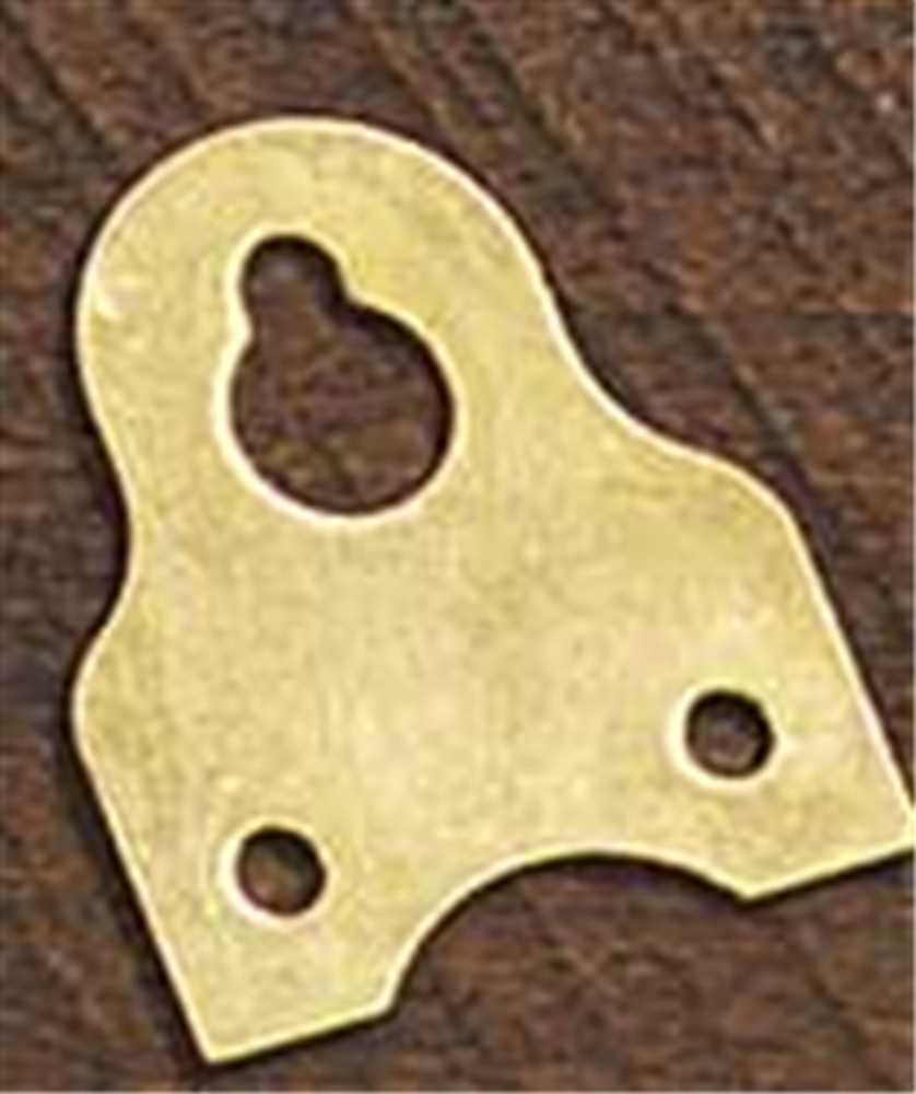 These are what the heavy duty brass hangers look like. They are also called heavy duty picture hangers which are great for picture frames!