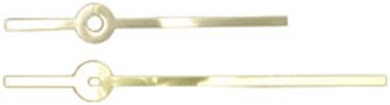 Cherry Tree Toys Hands 3 3/4 Brass Straight