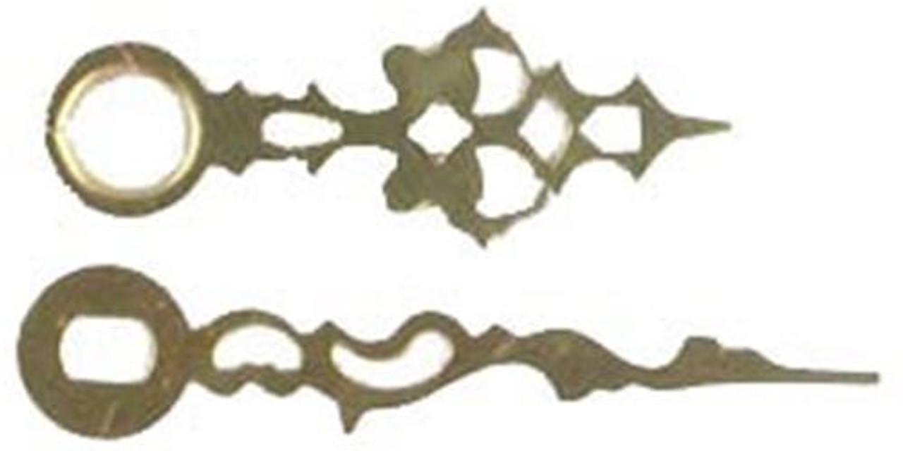 Cherry Tree Toys Hands 4 1/8 Brass Serpentine