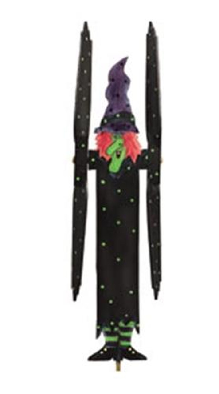 Cherry Tree Toys Halloween Witch Whirligig Plan