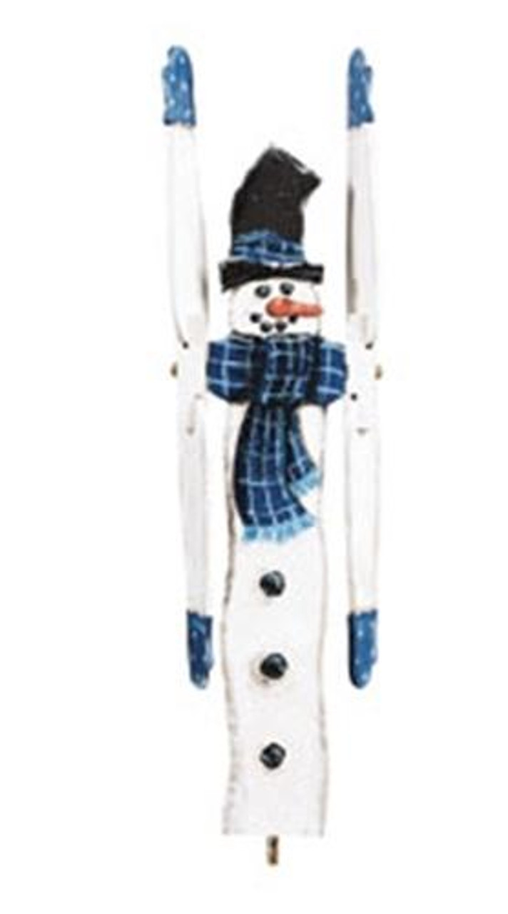Cherry Tree Toys Winter Snowman Whirligig Plan