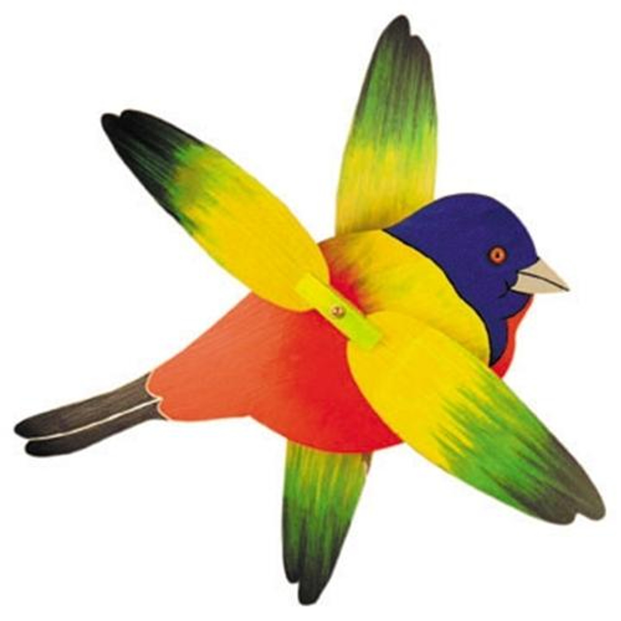 Cherry Tree Toys Painted Bunting Whirligig Plan