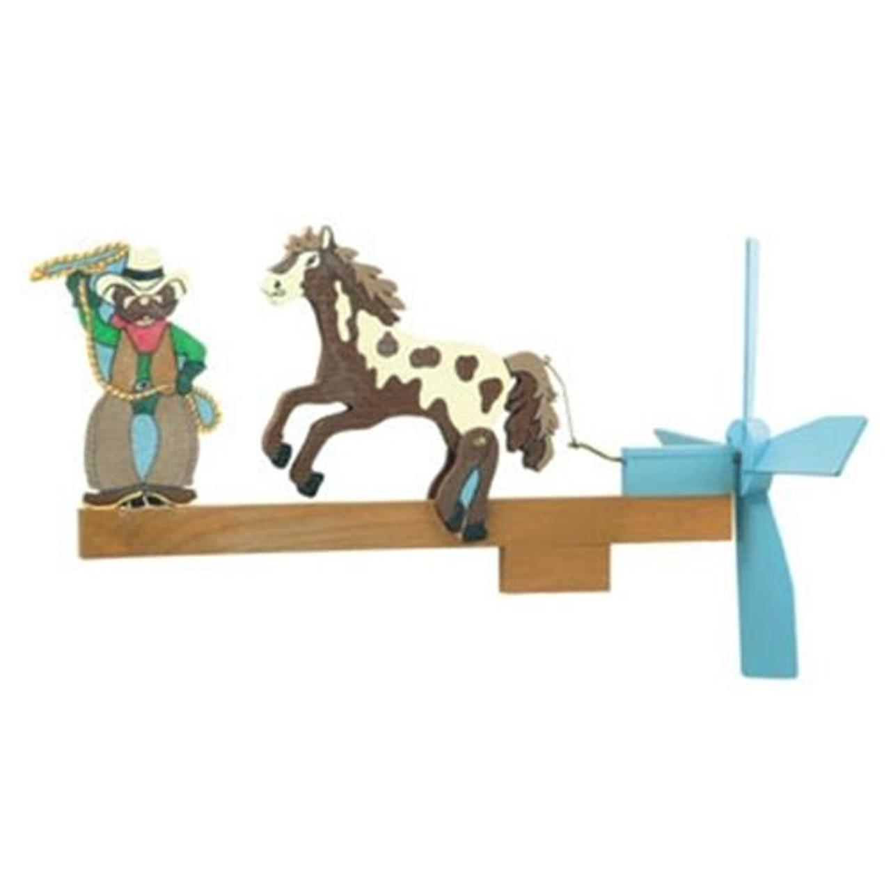 Cherry Tree Toys Ride Em Cowboy Whirligig Plan