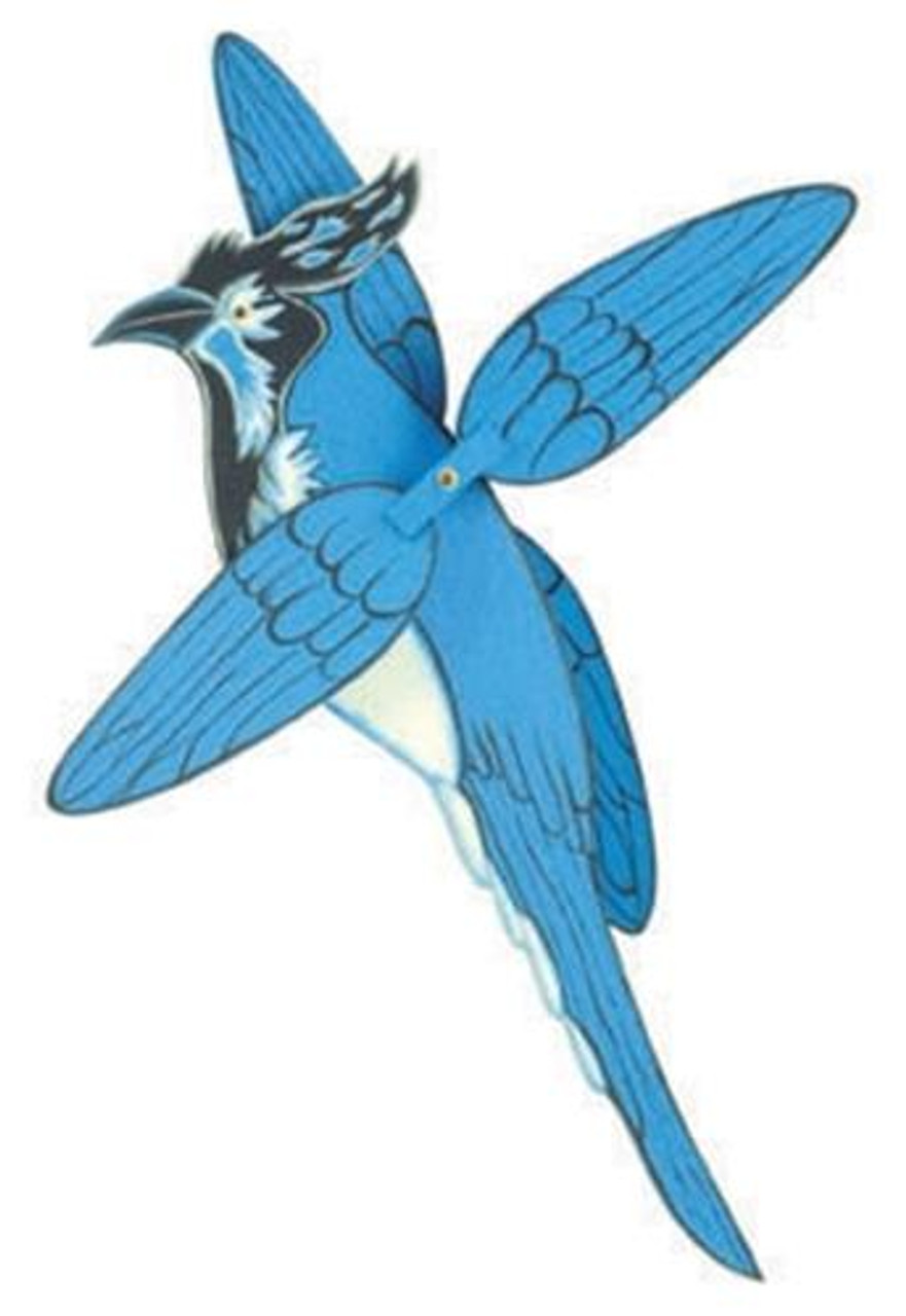 Cherry Tree Toys Black Throated Magpie Whirligig Plan