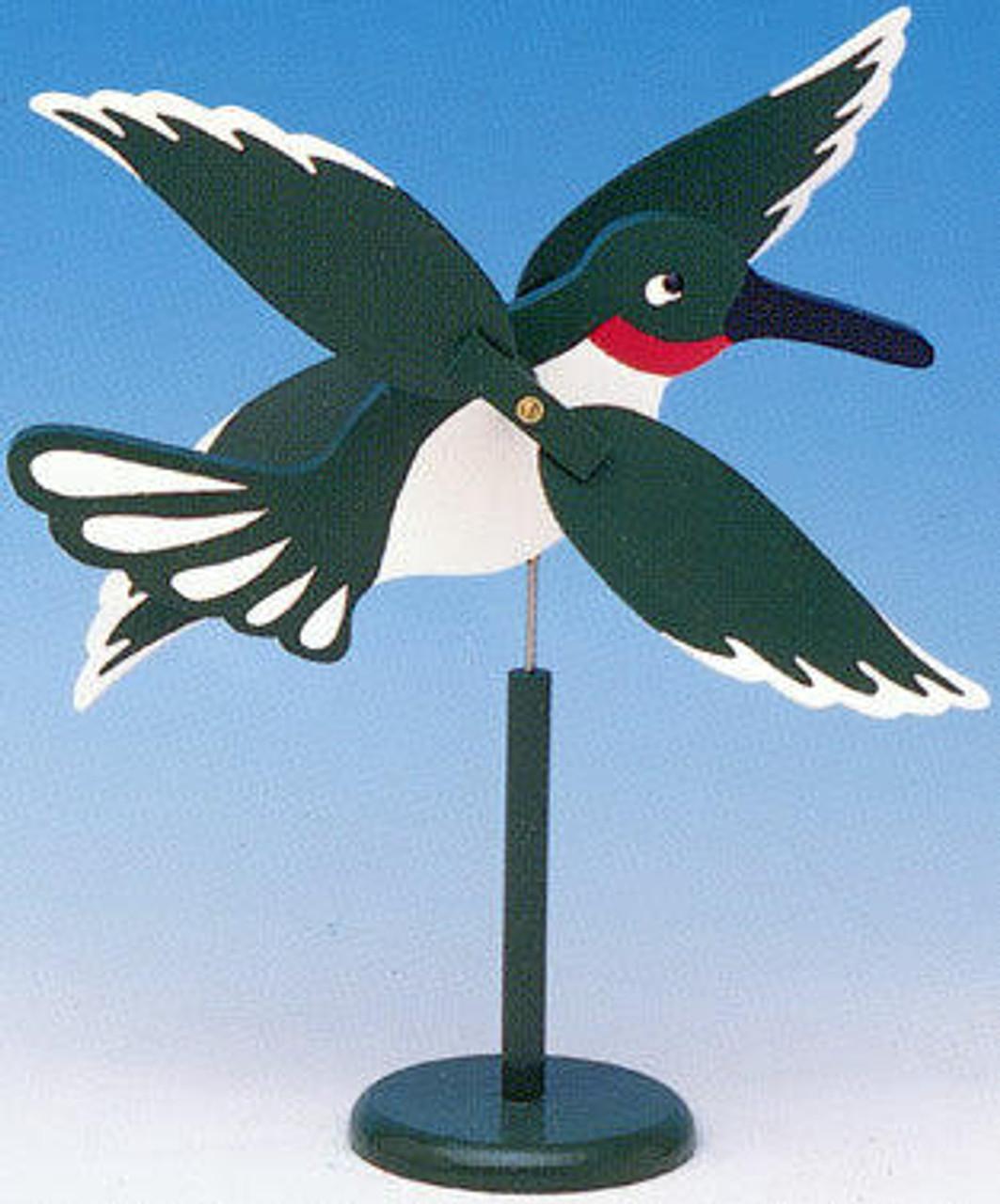 Cherry Tree Toys Hummingbird Whirligig Plan
