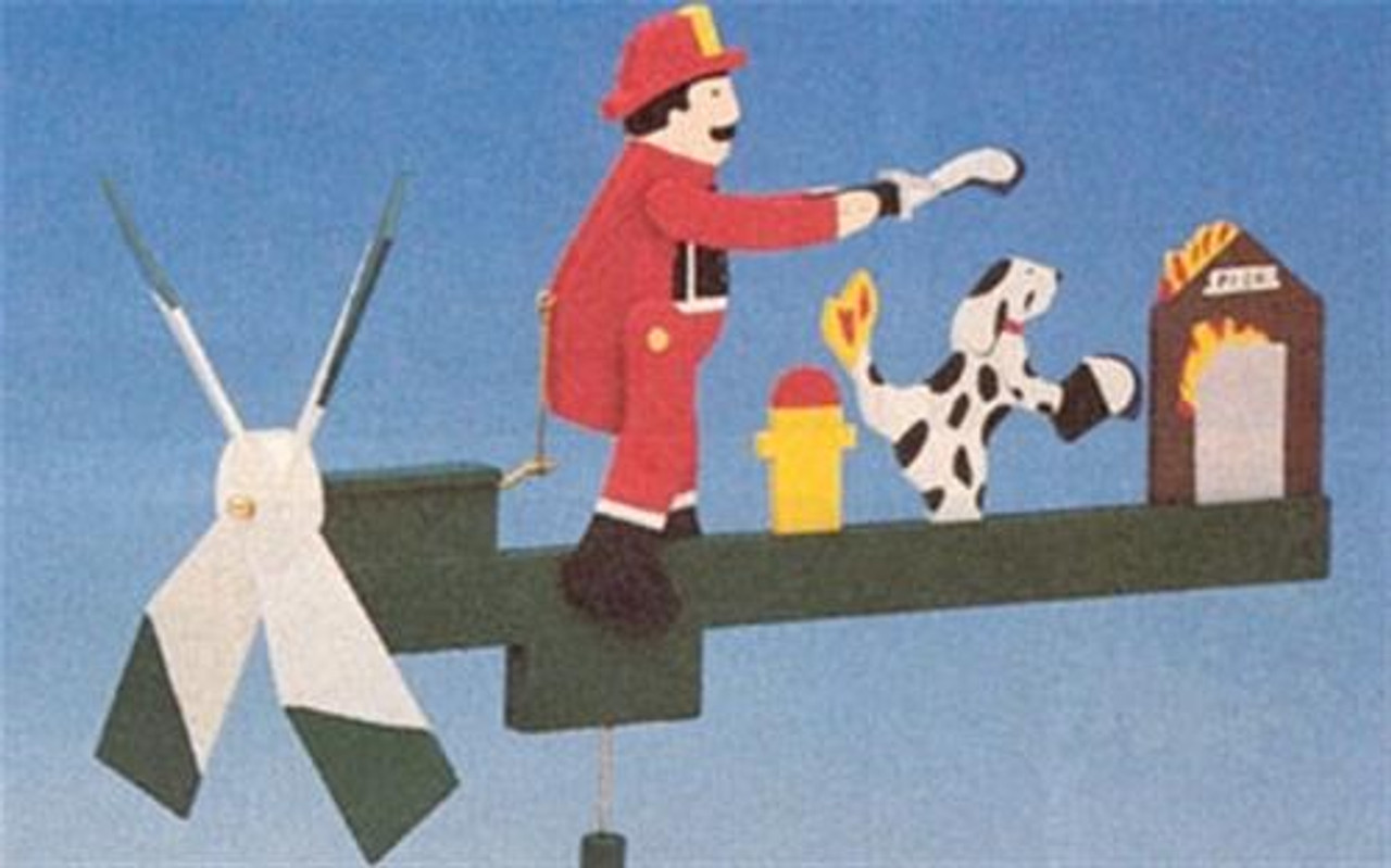 Cherry Tree Toys Fireman Whirligig Plan