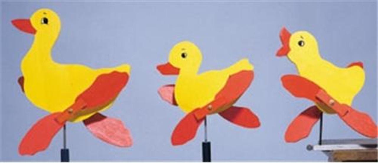 Cherry Tree Toys Duck Family Whirligig Plan