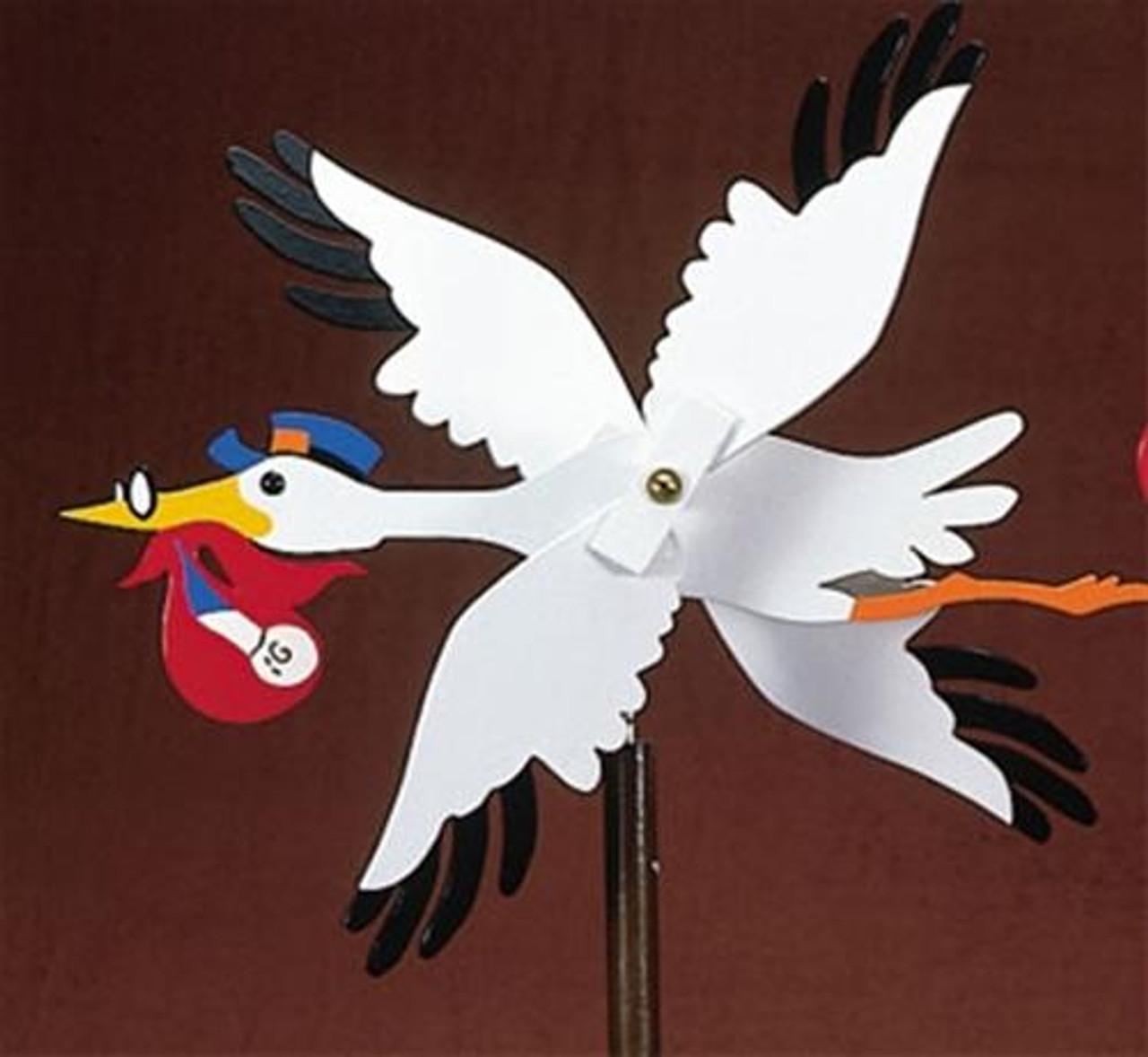 Cherry Tree Toys Stork Whirligig Plan