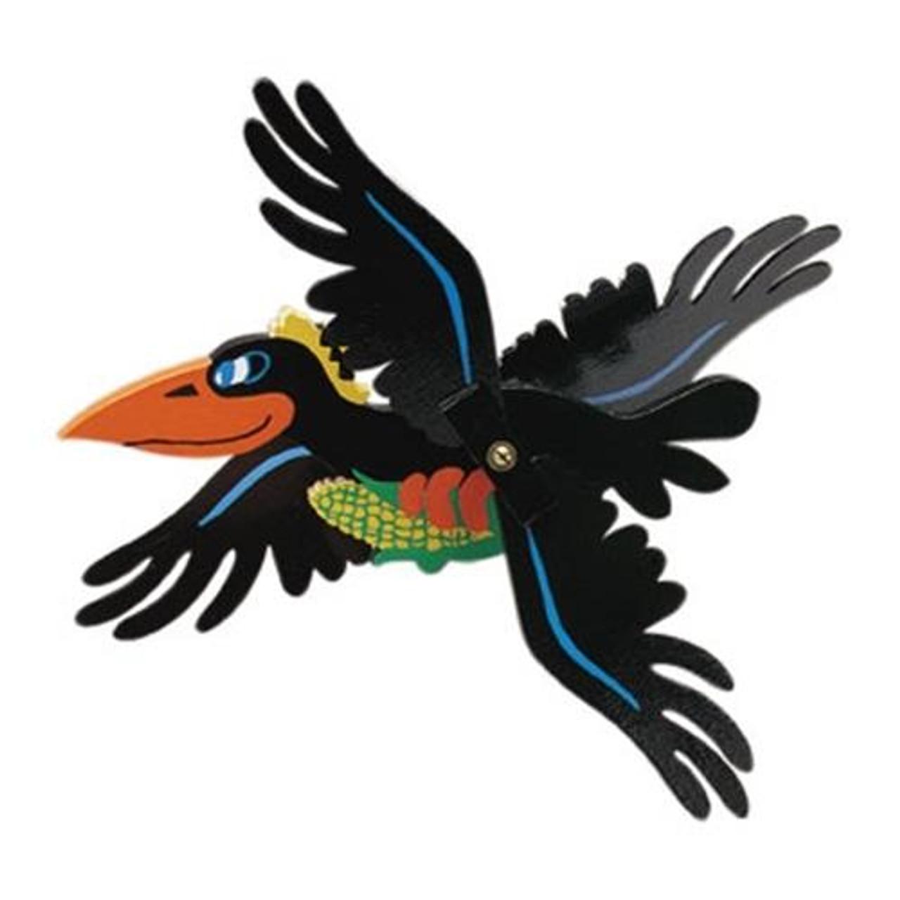 Cherry Tree Toys Crow Whirligig Plan