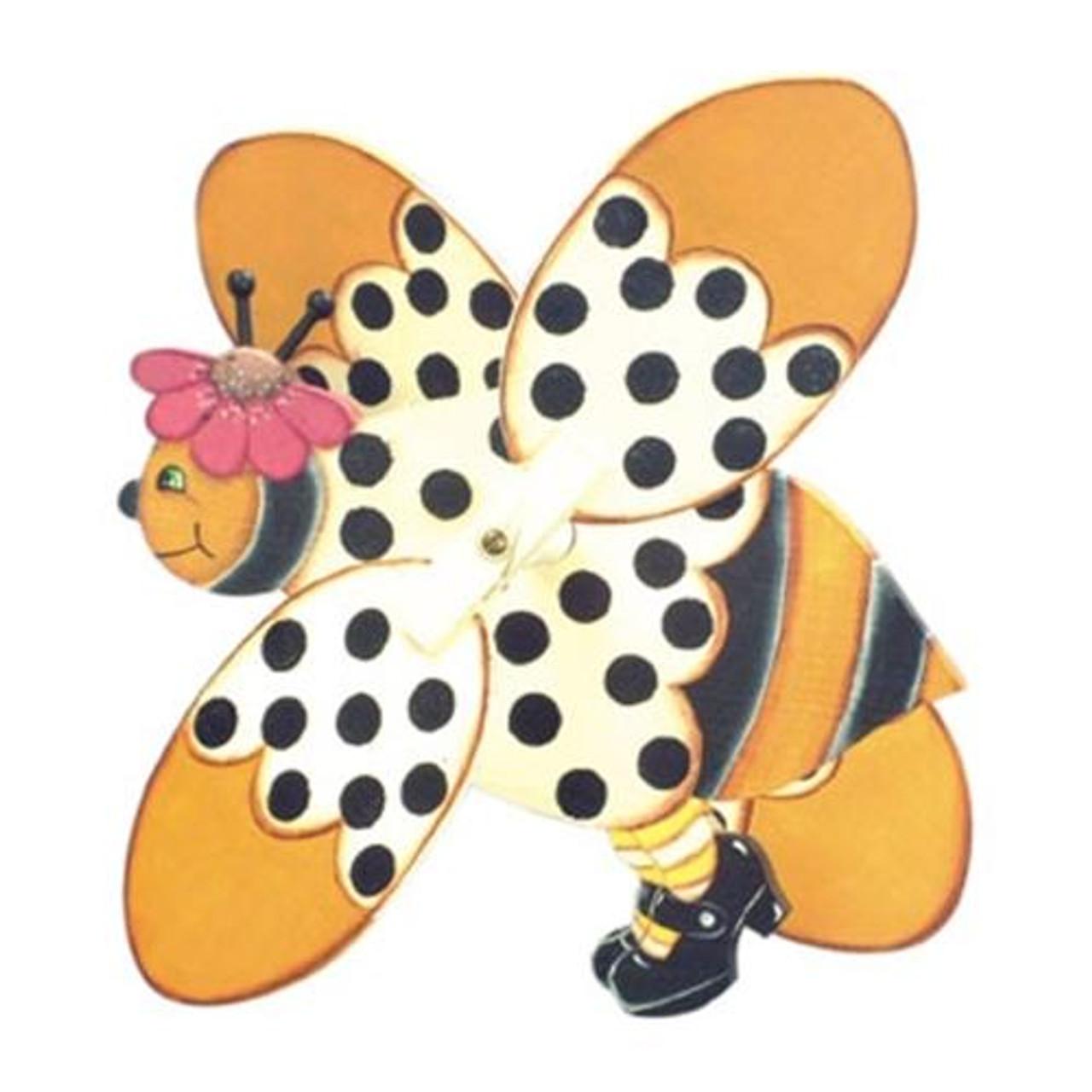 Cherry Tree Toys Bee Whirligig Plan