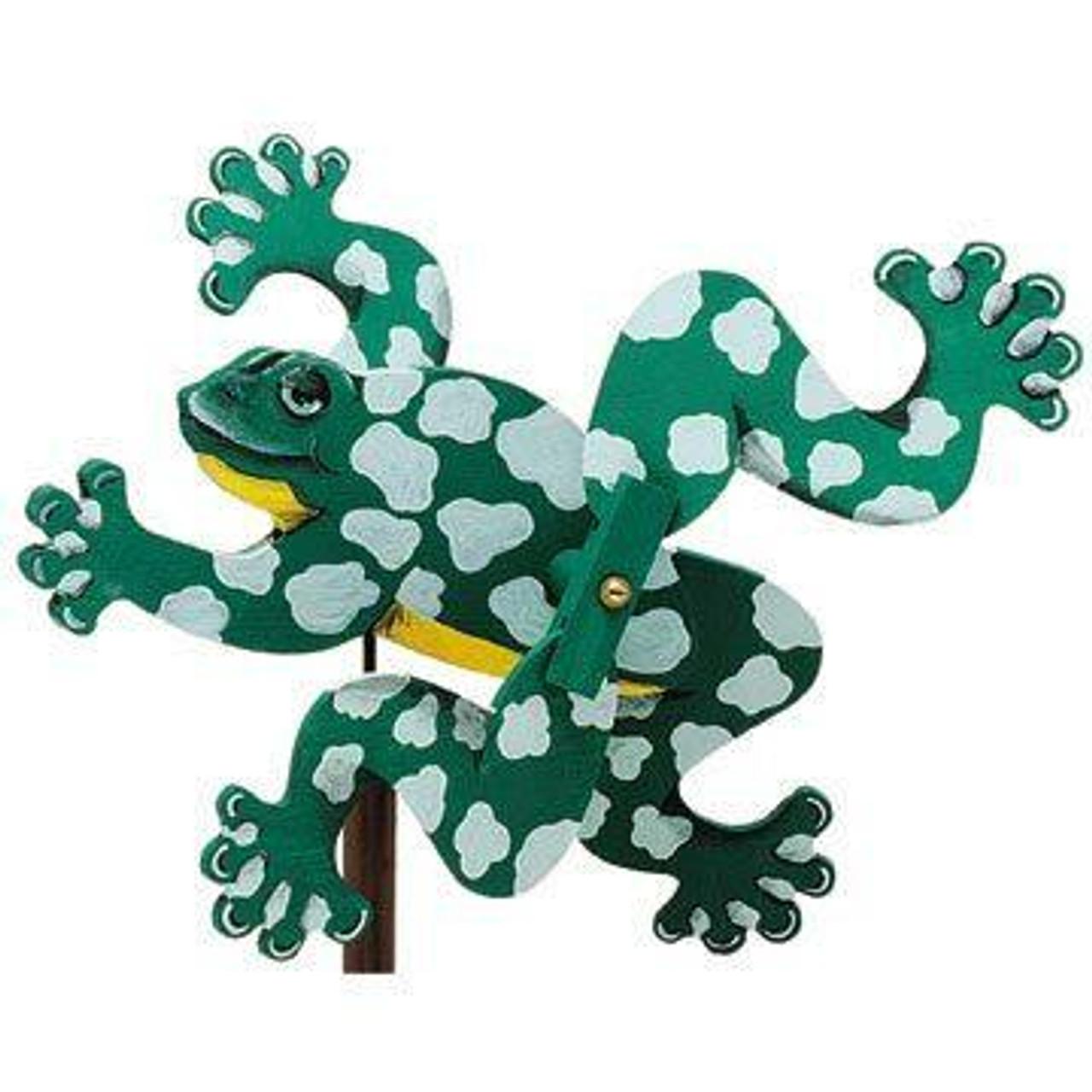 Cherry Tree Toys Frog Whirligig Plan