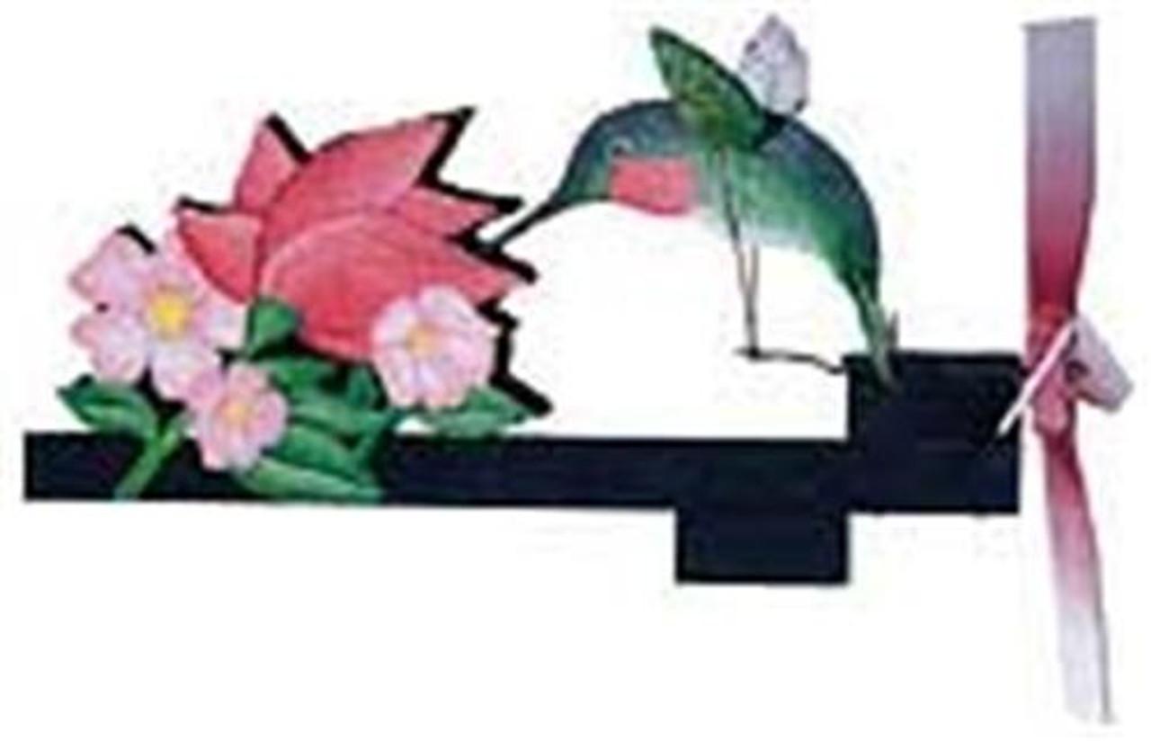 Cherry Tree Toys Hummingbird with Flower Whirligig Hardware Kit
