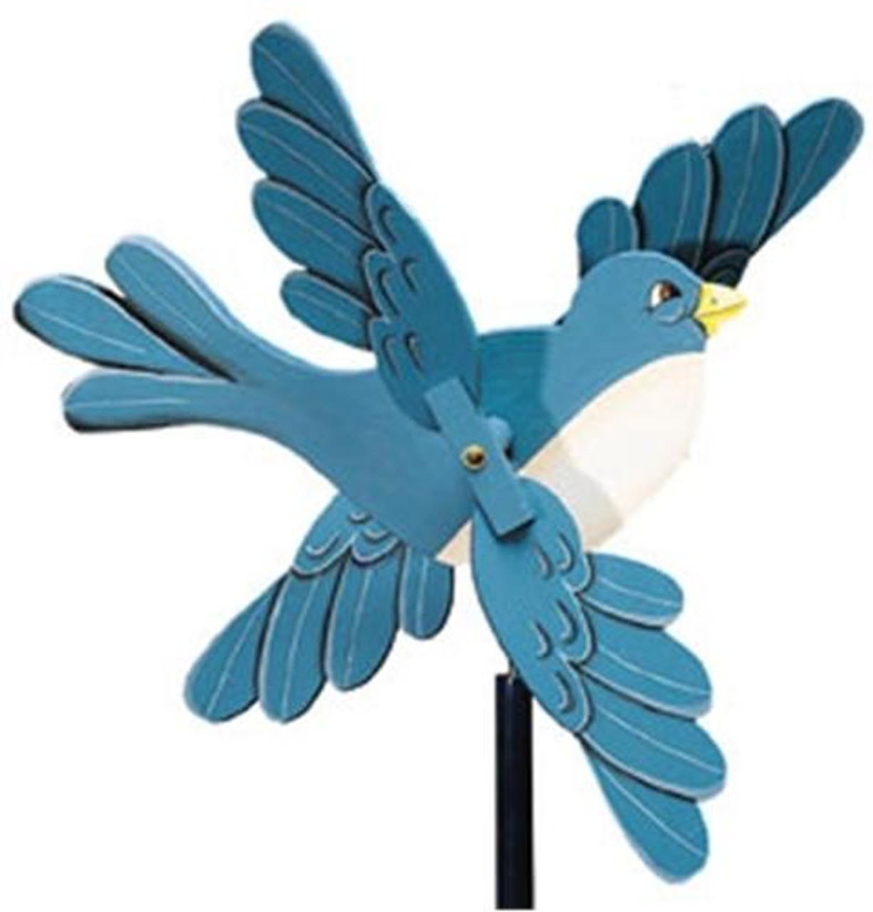 Cherry Tree Toys Bluebird w/Scalloped Wings Whirligig Parts Kit