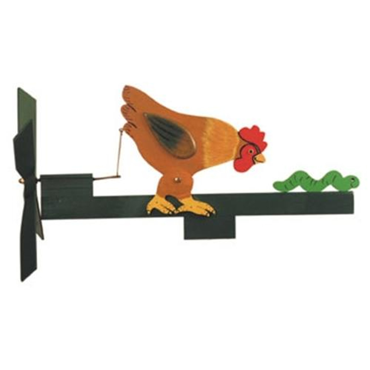 Cherry Tree Toys Chicken and Worm Whirligig Hardware Kit