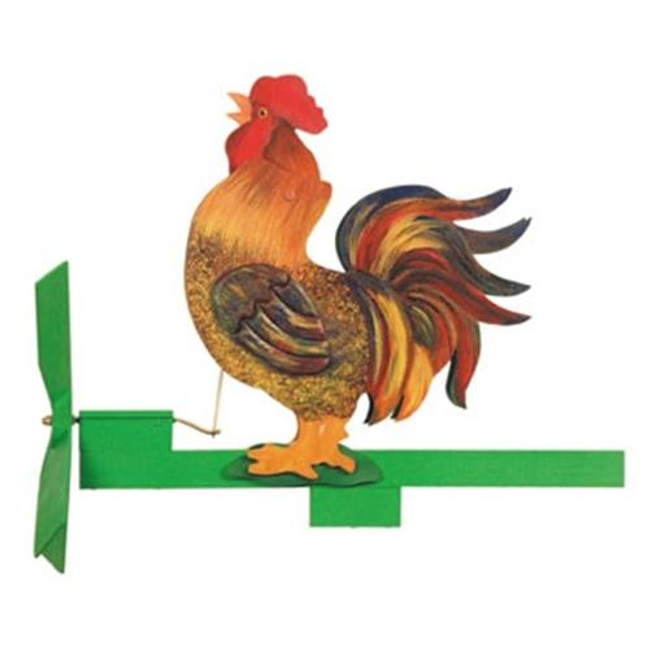 Cherry Tree Toys Rooster Crowing Whirligig Parts Kit