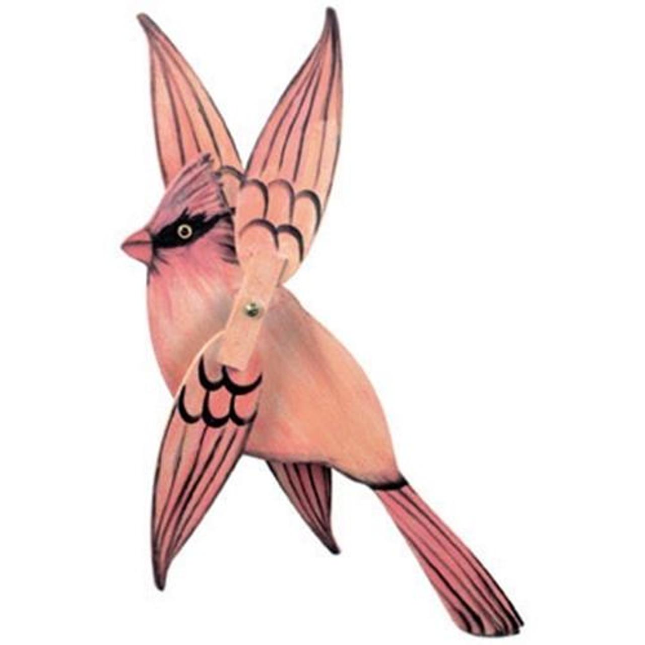 Cherry Tree Toys Female Cardinal Whirligig Hardware Kit