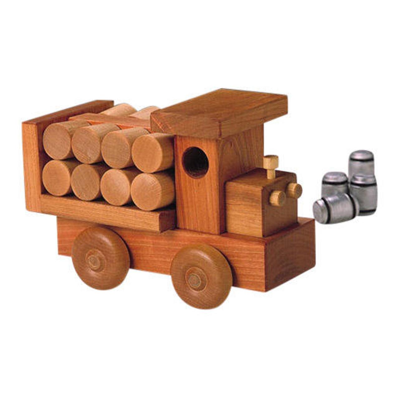 Cherry Tree Toys Barrel Truck Parts Kit
